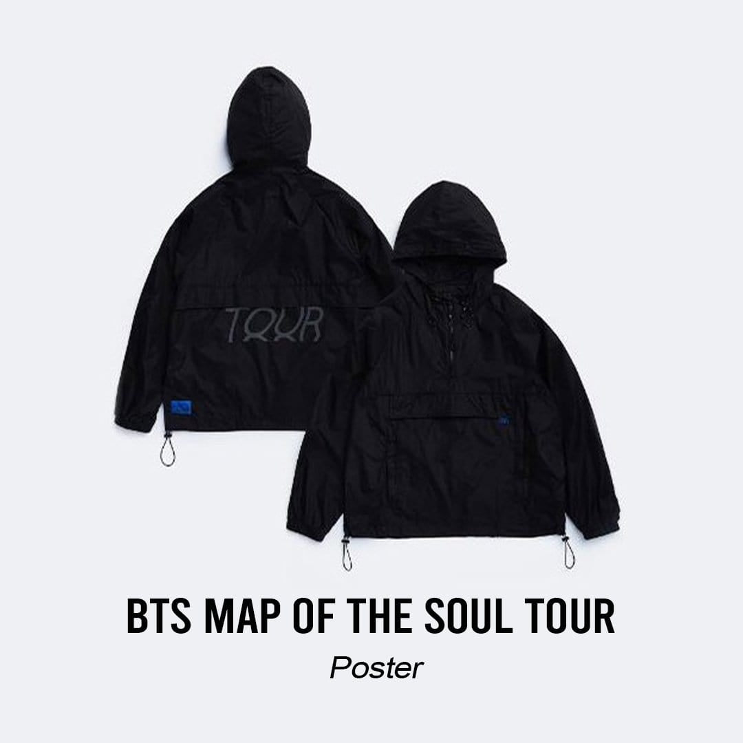 Pre-Order Bangtan7 Map Of The Soul Tour Merch - Official
