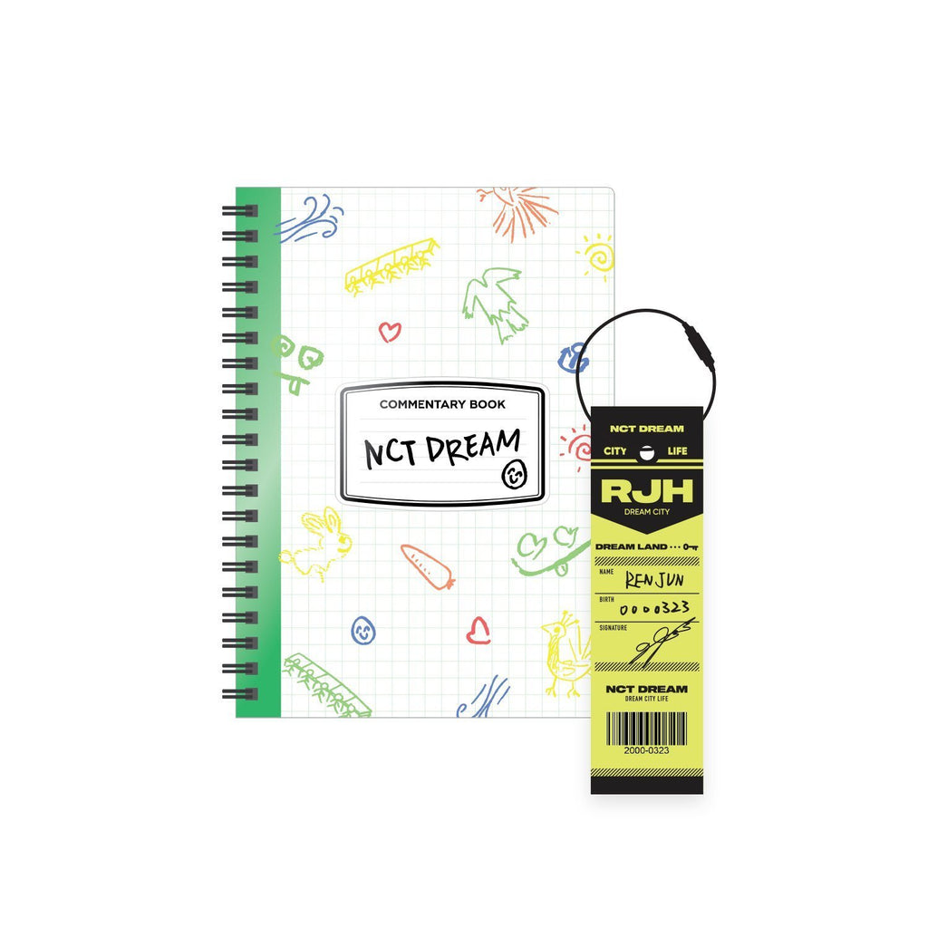 Pre-Order - NCT LIFE : DREAM in Wonderland Commentary Book + Luggage Tag