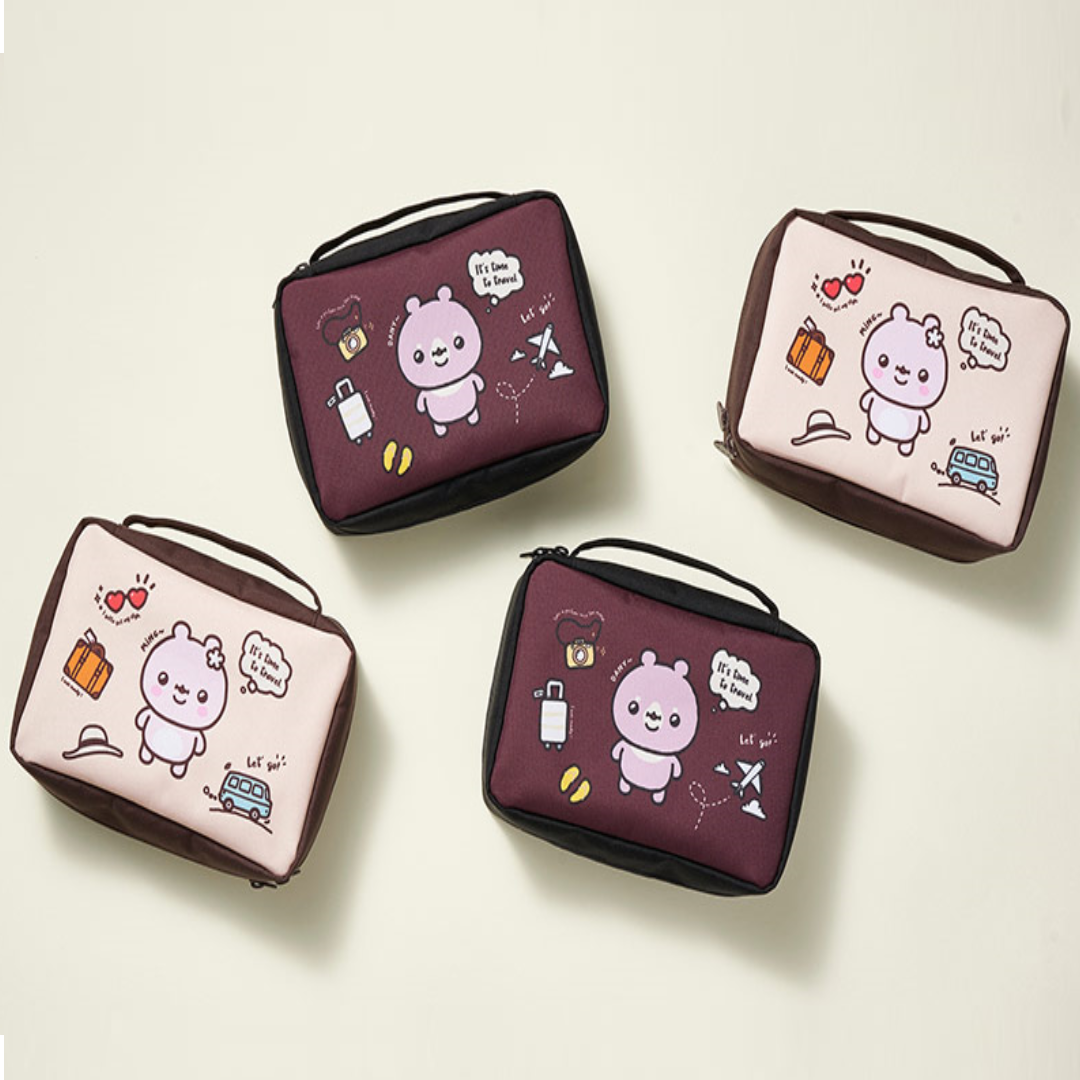 Monsta X With Twotuckgom Official Danygom  Toiletry Pouch