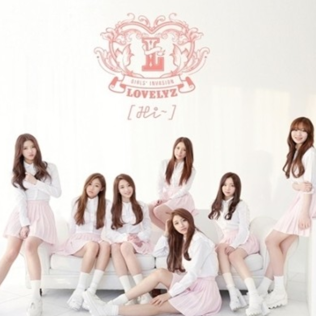 Lovelyz Official 1st Album Repackage