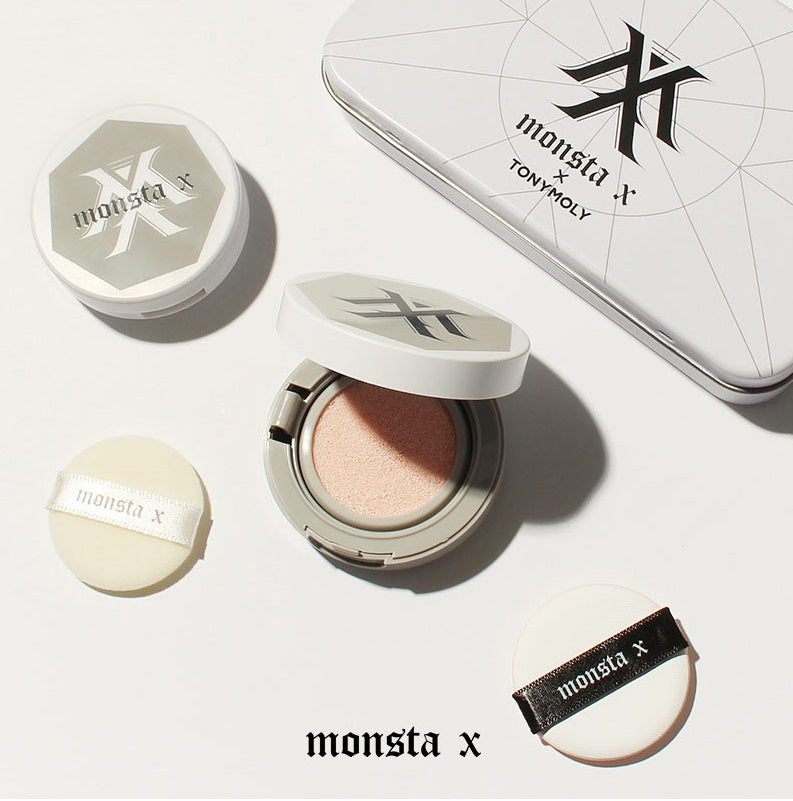 Monsta X & Tonymoly Official Tone Up Tin Set