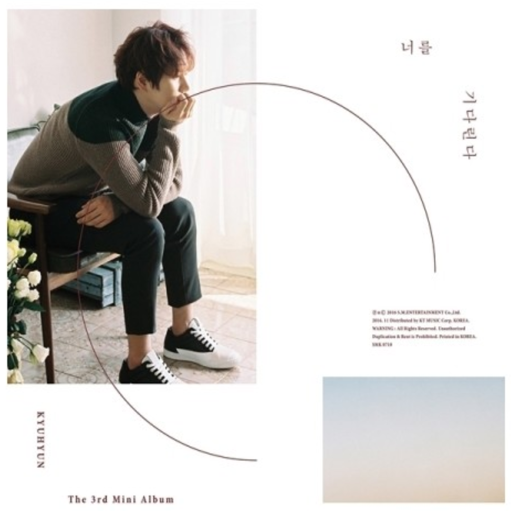 Kyuhyun Official 3rd Mini Album - Waiting, Still CD