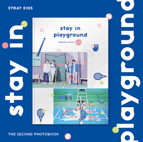 [PRE-ORDER] STRAY KIDS - 2ND PHOTOBOOK - [STAY IN PLAYGROUND] Official