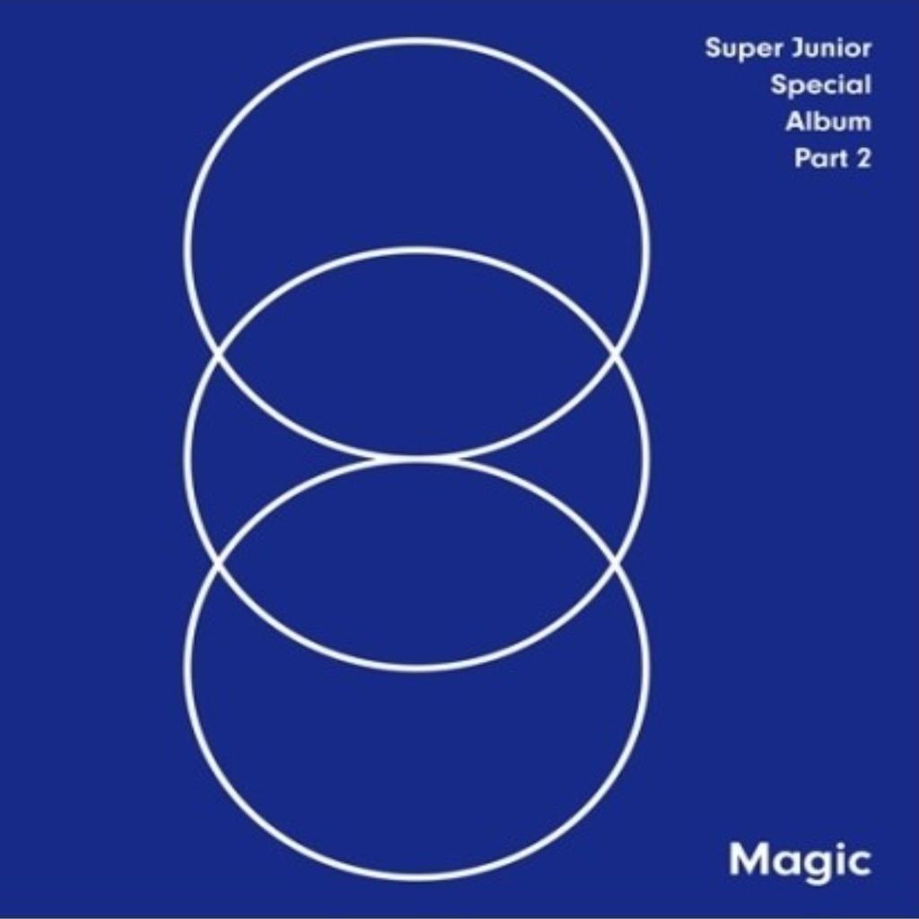 Super Junior Official Special Album Part.2 - Magic CD