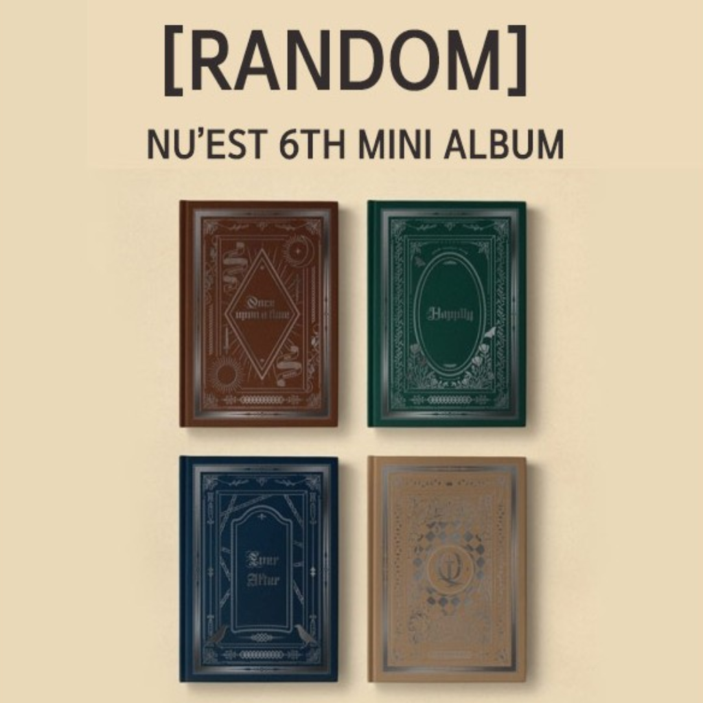 NU'EST Official 6th Mini Album - CD