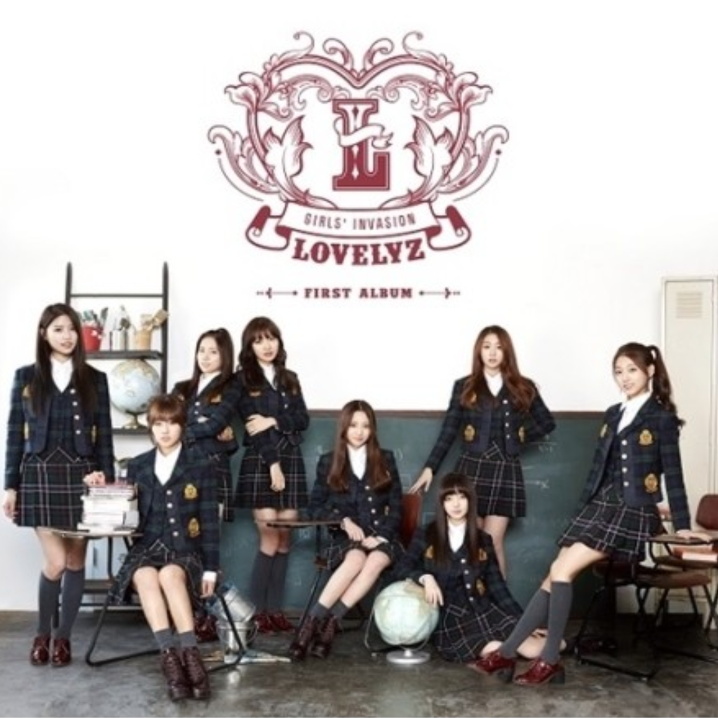 Lovelyz Official 1st Album