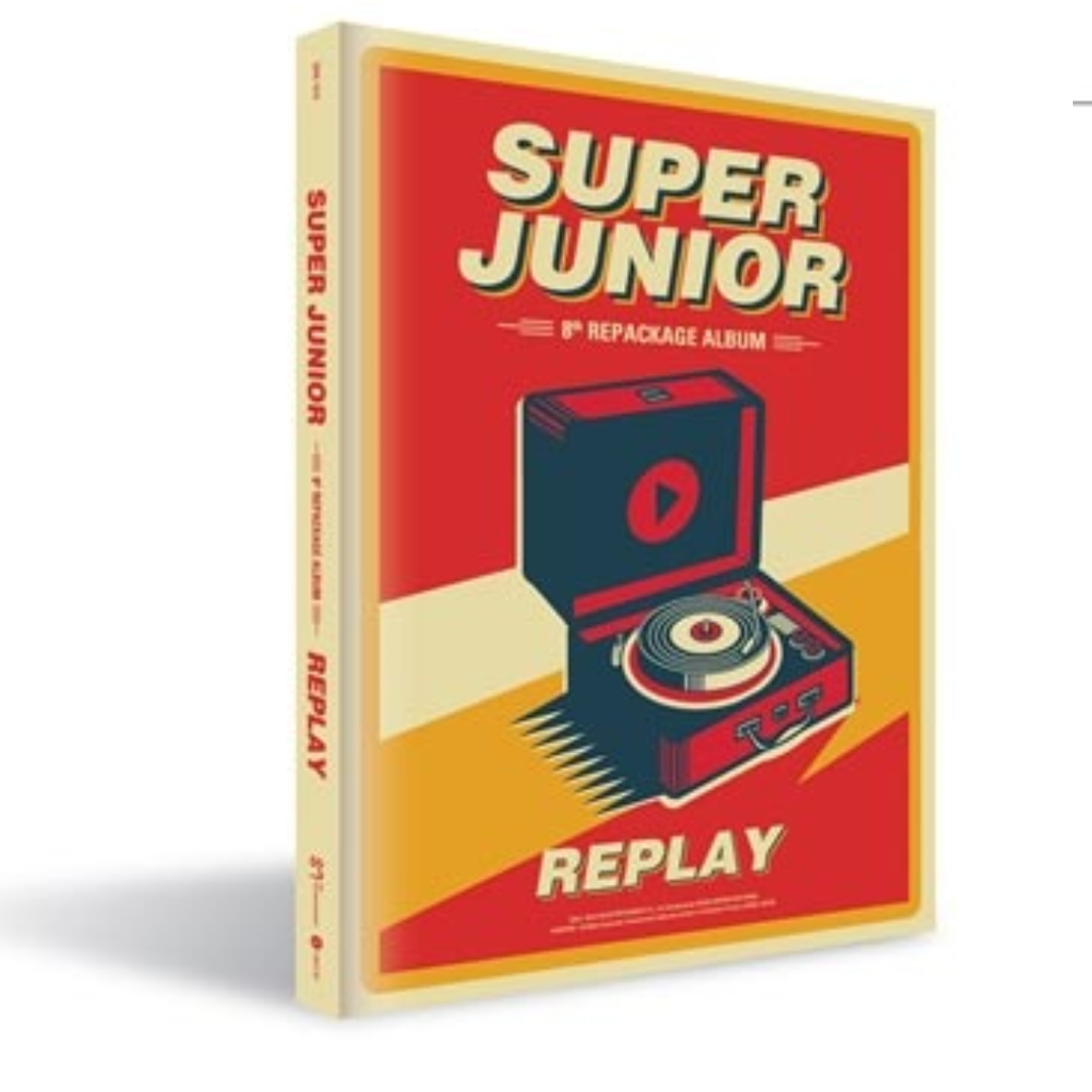 Super Junior Official 8th Album Repackage - Replay C