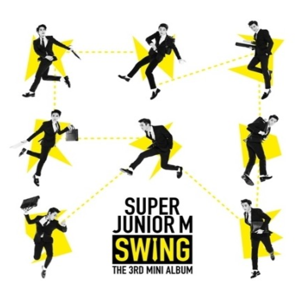 Super Junior-M Official 3rd Mini Album - Swing CD