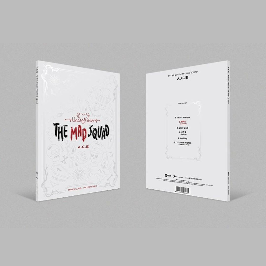 A.C.E - Official Mini Album Vol.3 [UNDER COVER : THE MAD SQUAD]