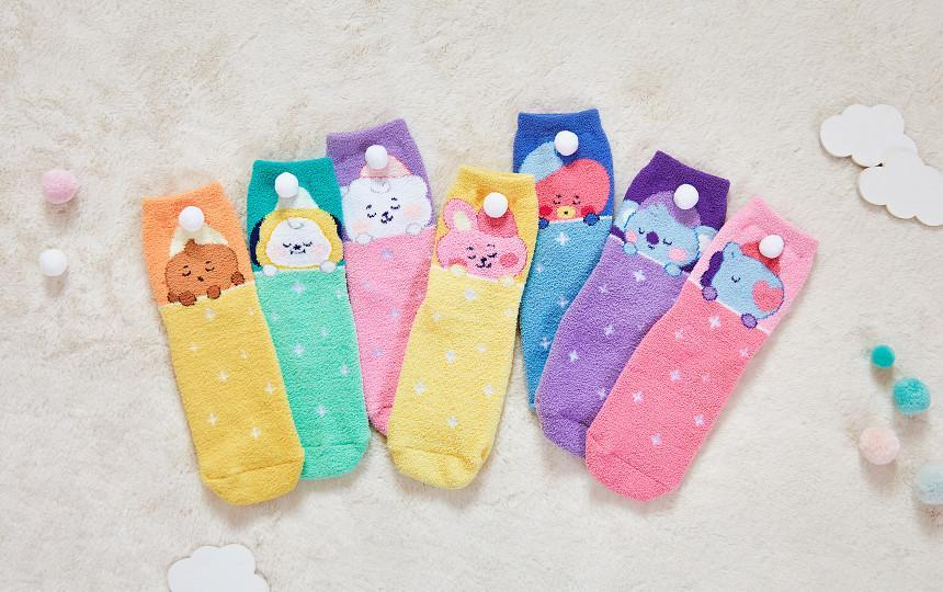 Bangtan21 Baby A Dream of Baby Sleep Socks - Official
