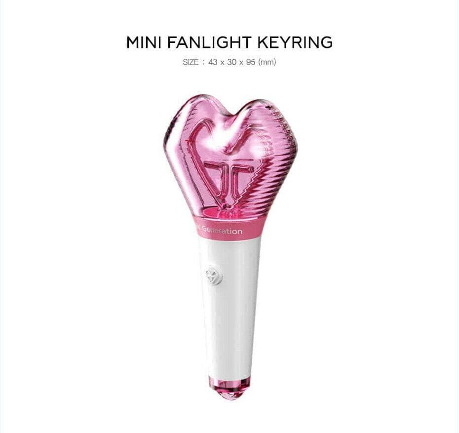GIRLS GENERATION - OFFICIAL MINI LIGHT STICK KEYRING