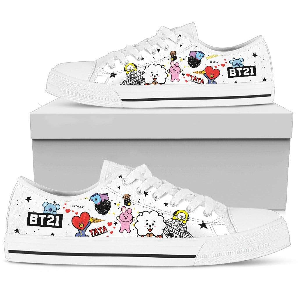 Bangtan21 Colored Low Tops