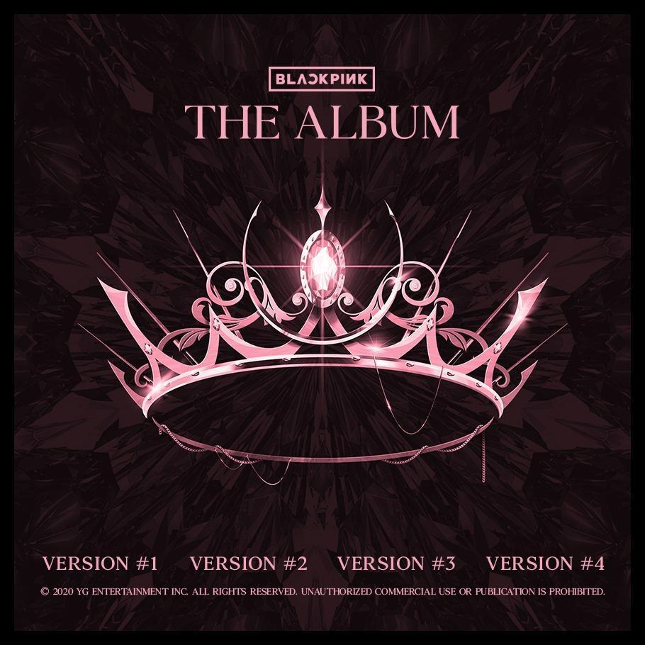 BLACKPINK 1ST FULL ALBUM [THE ALBUM] - OFFICIAL