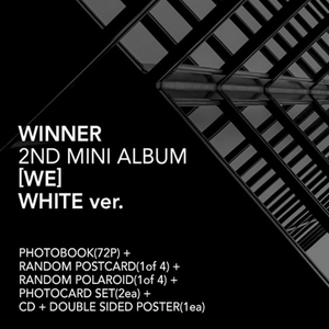 Winner Official 2nd Mini Album (White)
