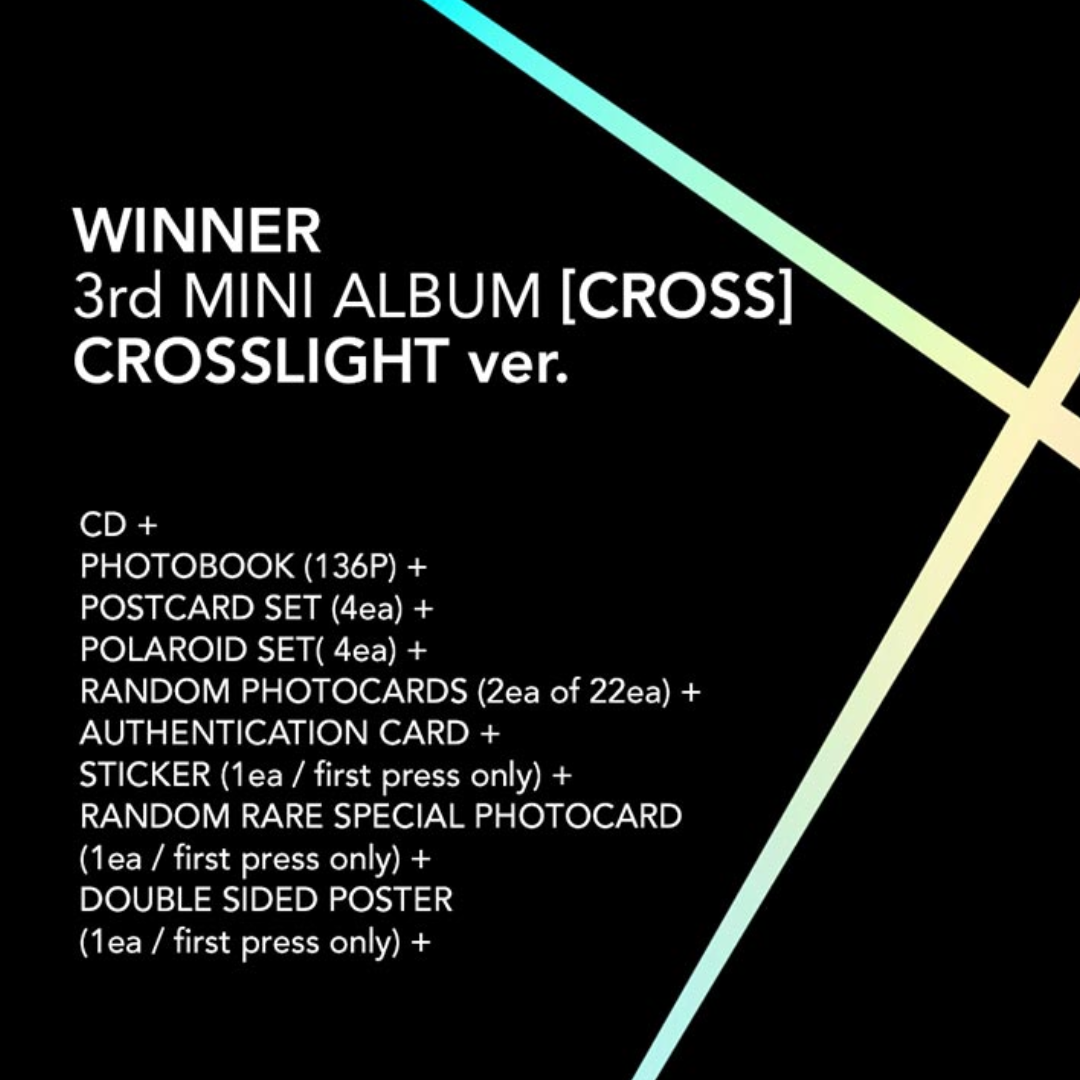 Winner Official 3rd Mini Album (Set)