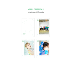 Bangtan7 2020 Wall Calendar - Official