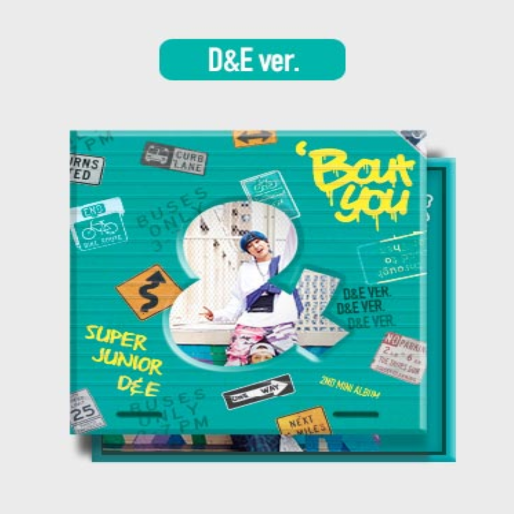 D&E Official 2nd Mini Album - Bout You Cd