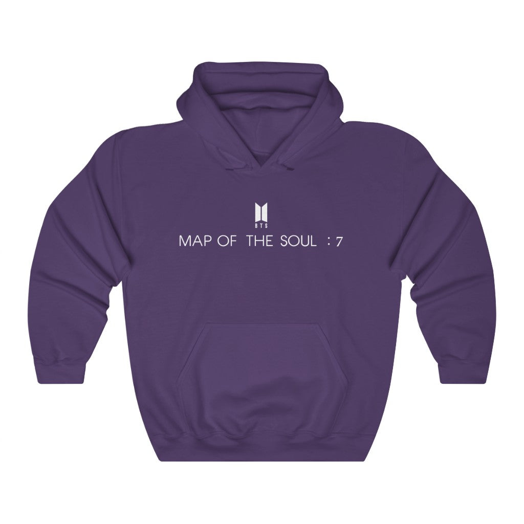 Bangtan7 Map Of The Soul: 7 Unisex Hoodie