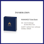 Mamamoo Official Ticket Book