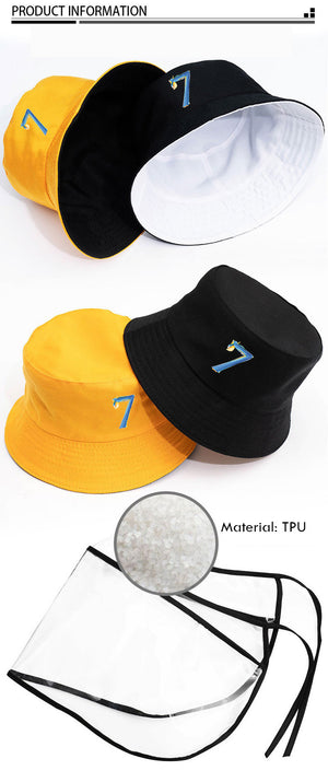 Bangtan MAP OF THE SOUL: 7 Fisherman's Hat | Dust-proof | Anti-saliva Protection Cap
