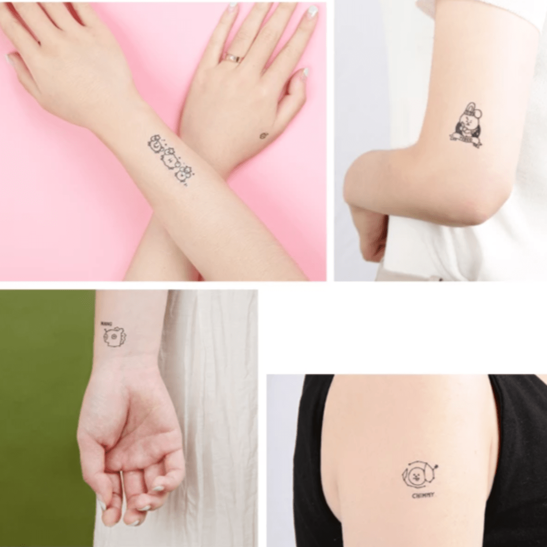 Bangtan21 x Monopoly Tattoo Sticker - Official