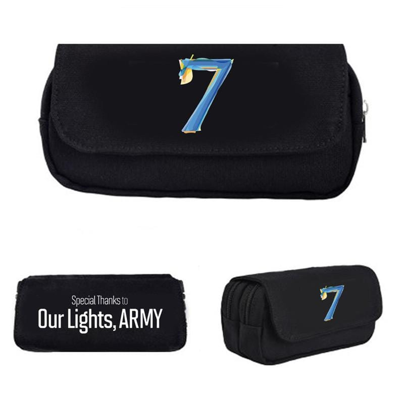 BTS 2020 MAP OF THE SOUL 7 Pencil Bag