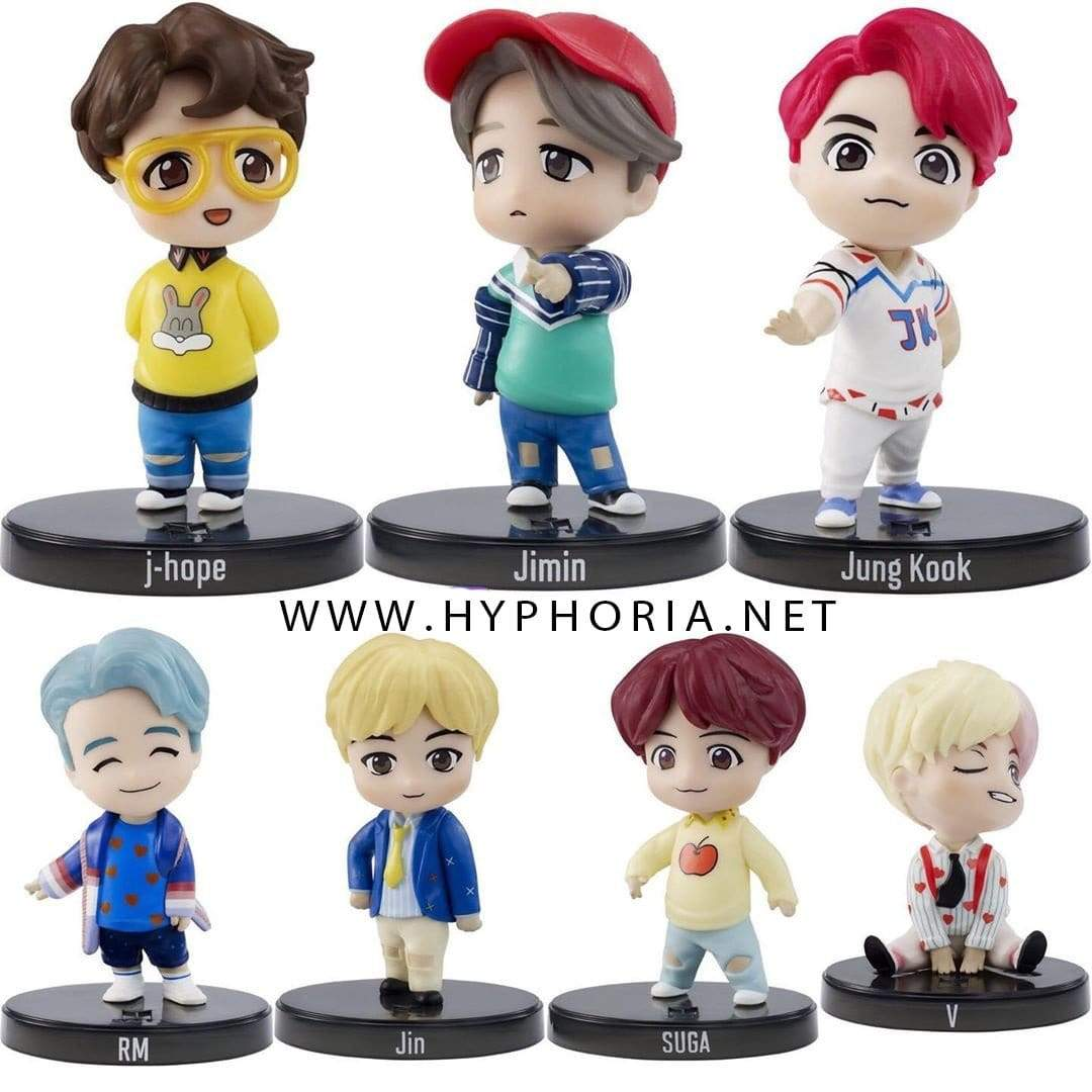 LIMITED STOCKS! Bangtan7 Character Mini Figure Official