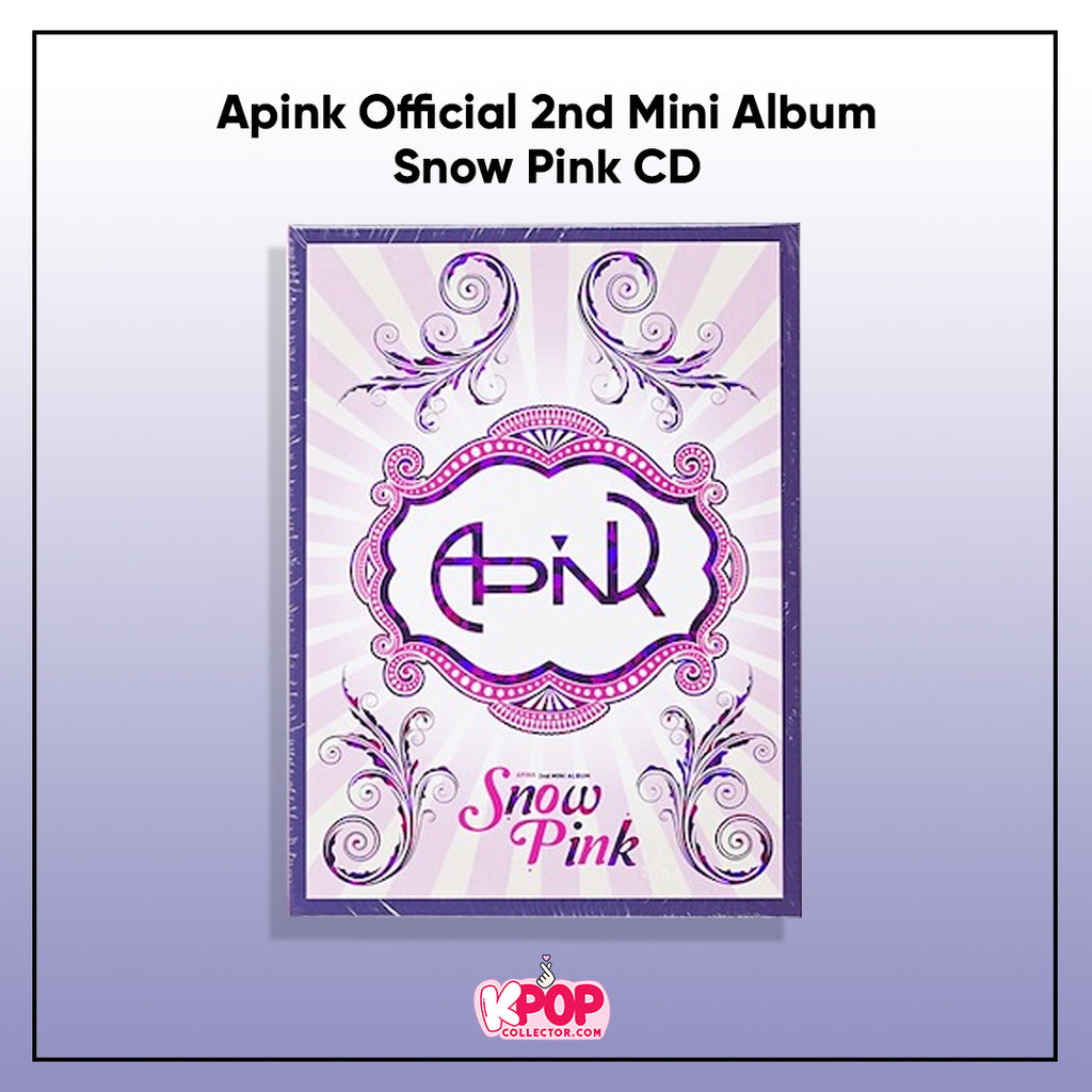 Apink Official 2nd Mini Album - Snow Pink CD