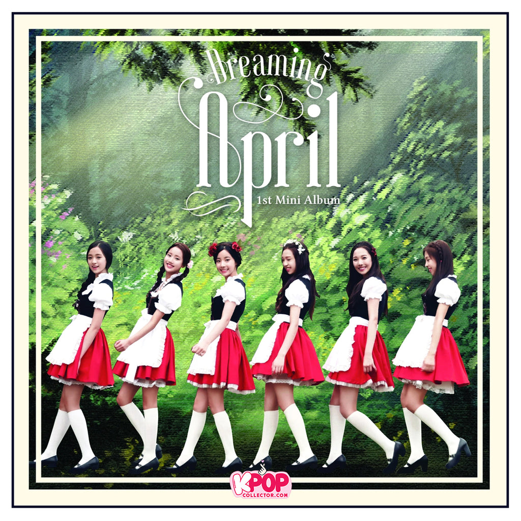 April Official 1st Mini Album