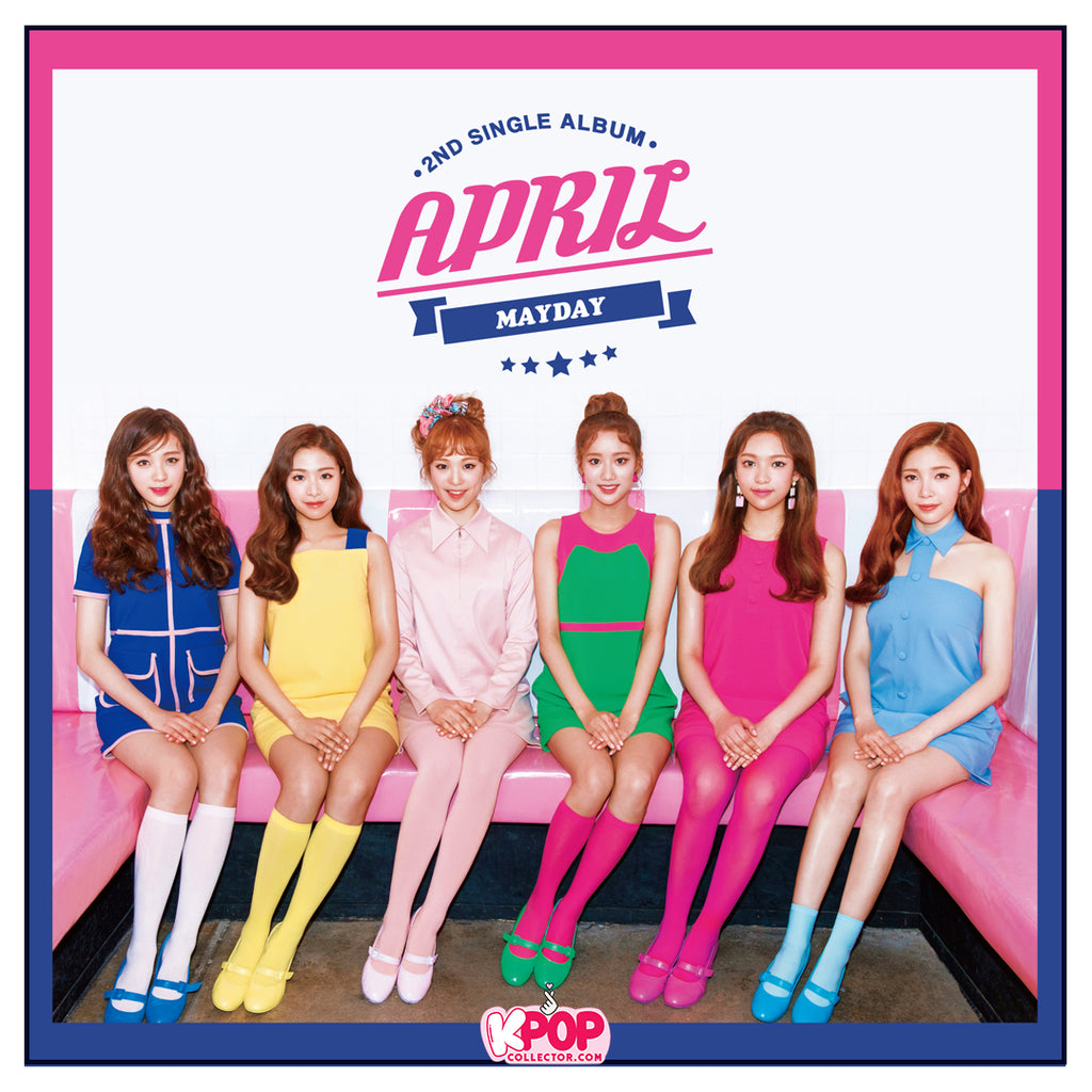 April Official 2nd Single Album