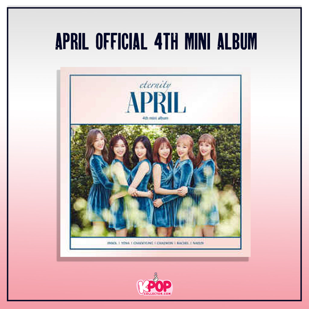 April Official 4th Mini Album