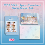 BTOB Official 7years 7members' Stamp Sticker Set