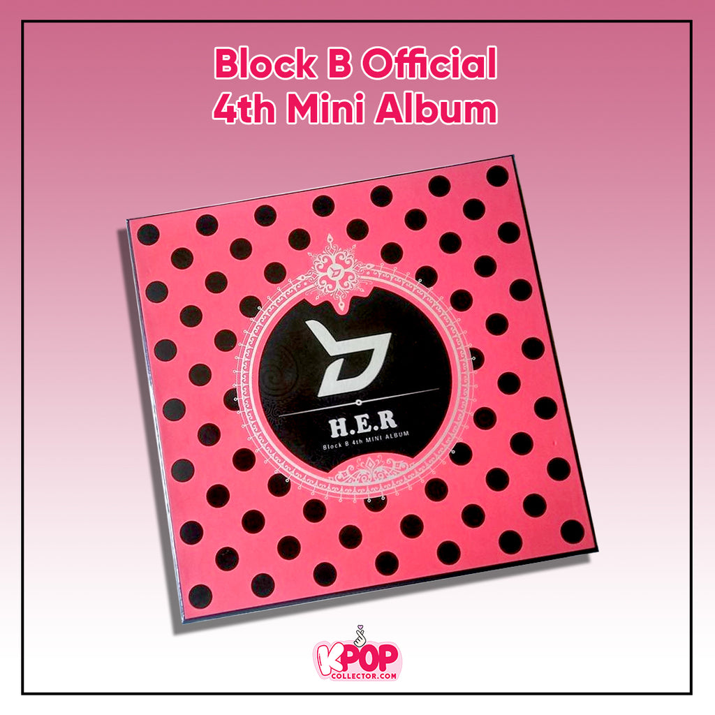 Block B Official 4th Mini Album