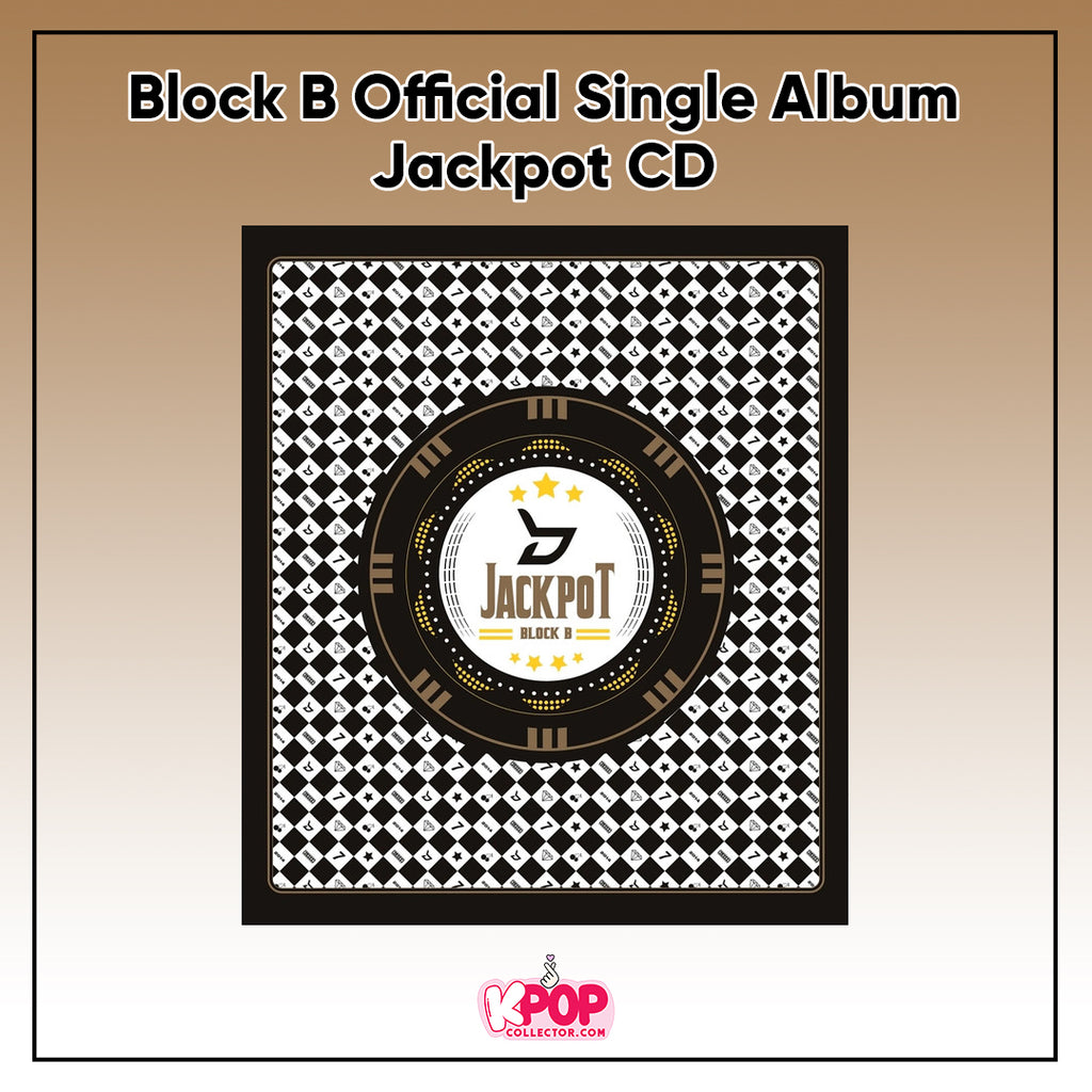 Block B Official Single Album - Jackpot CD