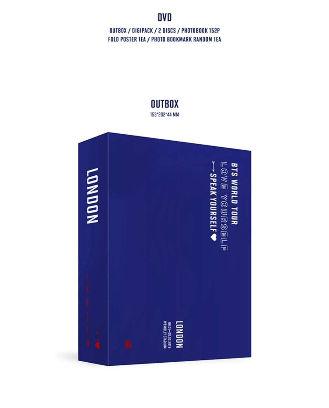 [PRE-ORDER] BANGTAN7 LOVE YOURSELF: SPEAK YOURSELF LONDON OFFICIAL DVD