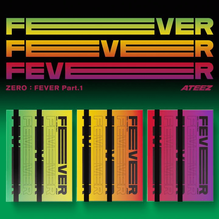 [PRE-ORDER] ATEEZ ZERO : FEVER PART.1 (Official Album)