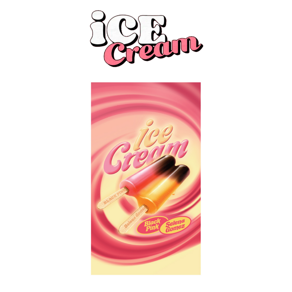 [PREORDER] BLACKPINK Ice Cream Official MD - Towel