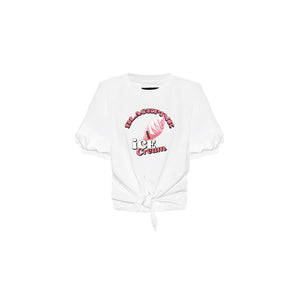 [PREORDER] BLACKPINK Ice Cream Official MD - Tie up T-Shirt