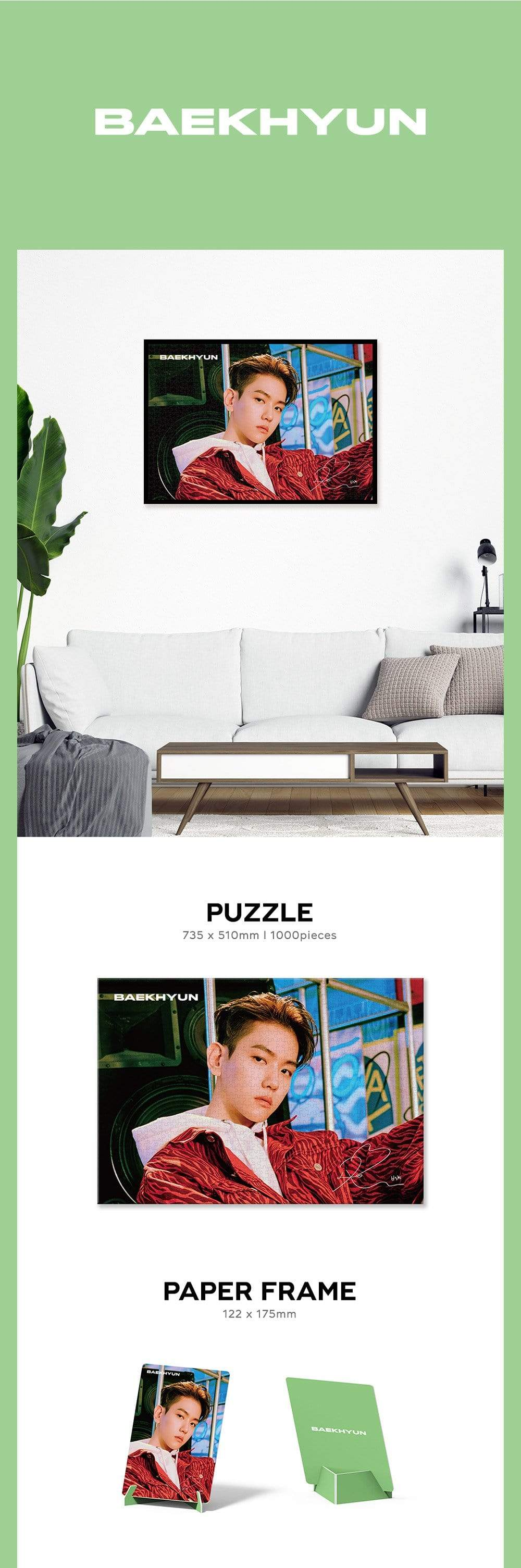 [Pre Order] BAEKHYUN PUZZLE PACKAGE Ver.2 (Official)