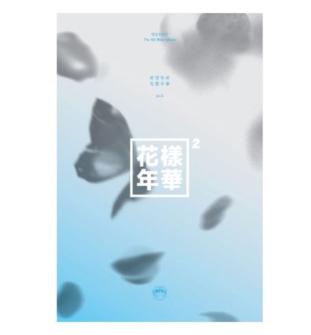 Bangtan7 - Mini Album Vol.4 The Most Beautiful Moment in Life Part.2 Blue Version - Official