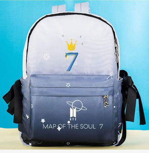 BTS MAP OF THE SOUL : 7 Gradient Backpack