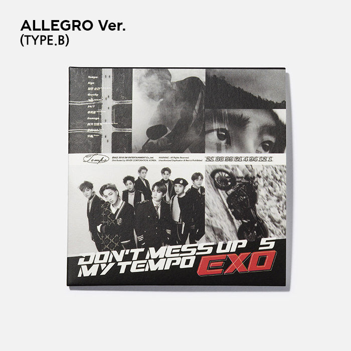 EXO Official LP Coaster (Don'T Mess Up My Tempo Ver.)