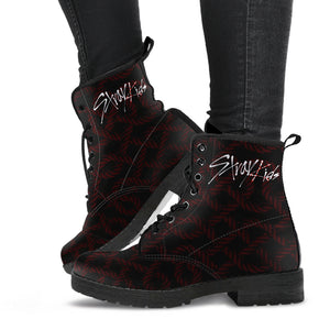 Stray Kids Leather Boots