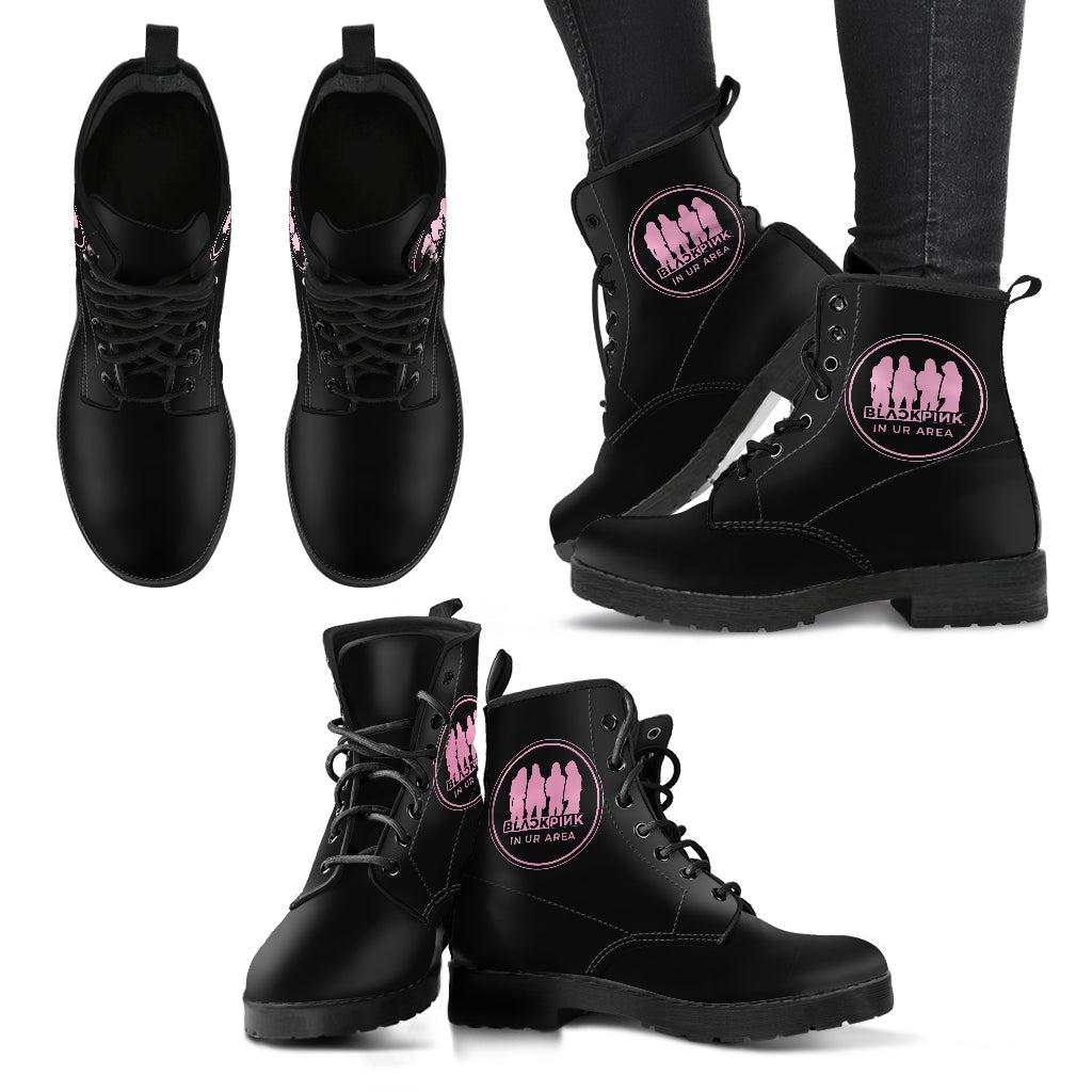 BLACKPINK Leather Boots
