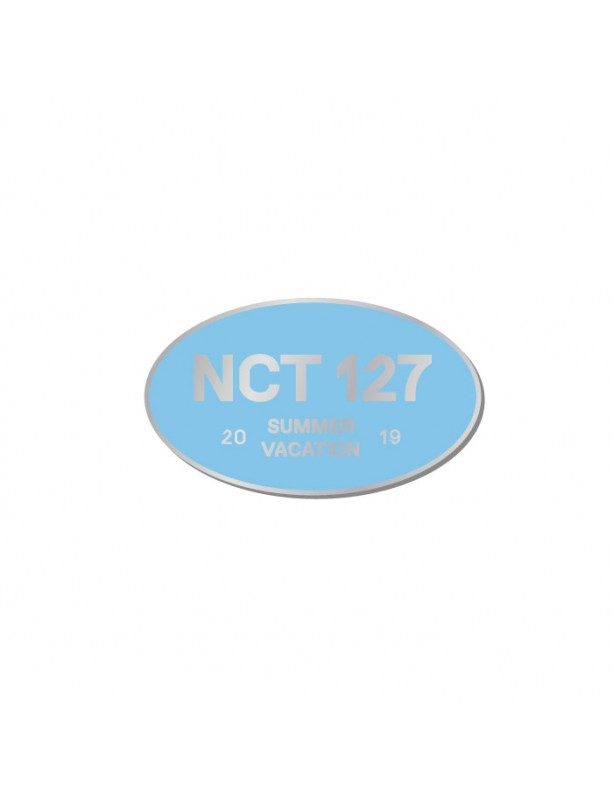 NCT 127 Official Logo Badge (2019 Summer Vacation Kit.)