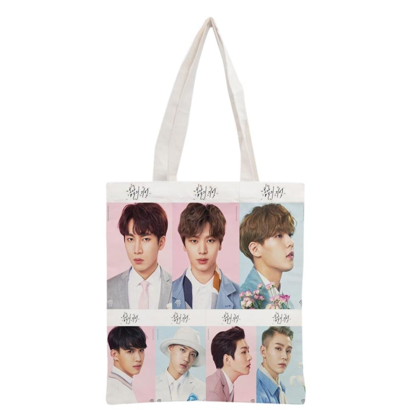 BTOB printed Canvas Tote Bag
