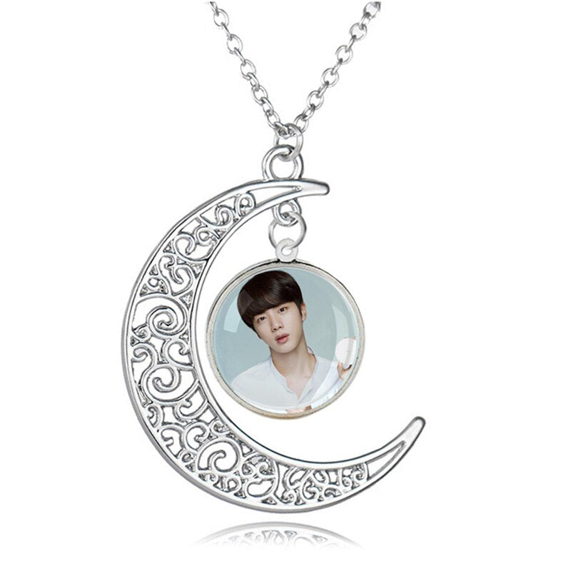 Bangtan7 Photo Necklace