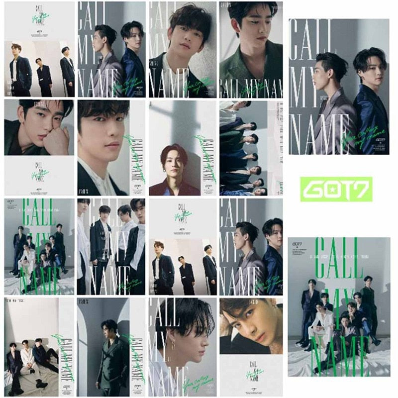 GOT7  Call My Name  Photo Card - 16pcs