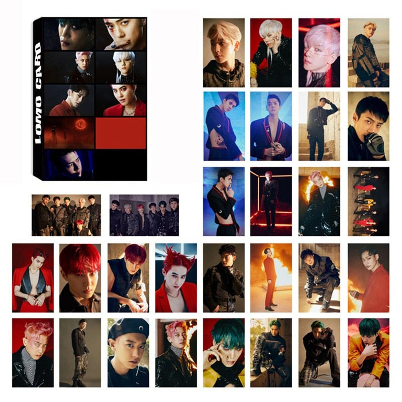 EXO 6th Album Lomo Card