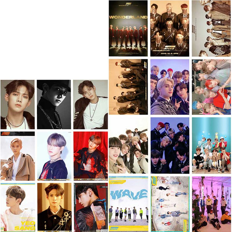 Ateez Photo Card Set